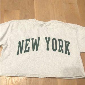 never worn Brandy Melville Aleena New York top
